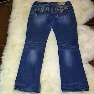 Miss Me Jeans Size 32/33 Easy Boot Cut